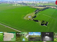 Mixed-Use Farm, Troy, Falls Co : Troy : Falls County : Texas