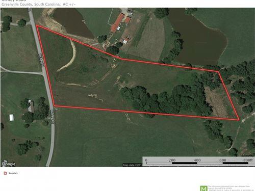 10 Acres, Pasture, Pond, Stream, Pe : Pelzer : Greenville County : South Carolina