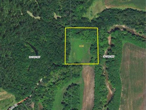 6 Acres M/L Land For Sale in Mario : Marysville : Marion County : Iowa