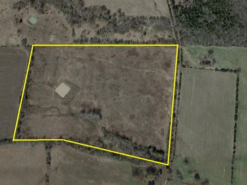 42 Acres For a Home Or Livestock : Deport : Lamar County : Texas