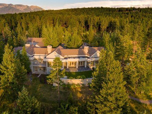 Swan Hill Masterpiece : Bigfork : Flathead County : Montana