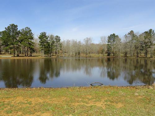 Recreational, Hunting, Rural East : Rusk : Cherokee County : Texas