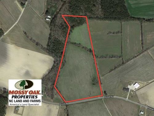 23 Acres of Farm And Hunting Land : Lumberton : Robeson County : North Carolina