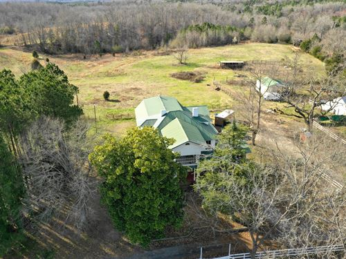 Historic Cotton Plantation : Waterloo : Laurens County : South Carolina