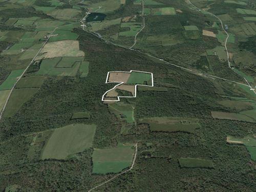 Large Acreage Seasonal Getaway : Cincinnatus : Cortland County : New York