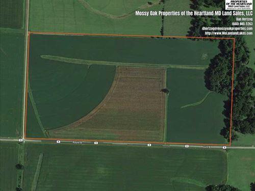 Excellent Farm Ground : Rich Hill : Bates County : Missouri