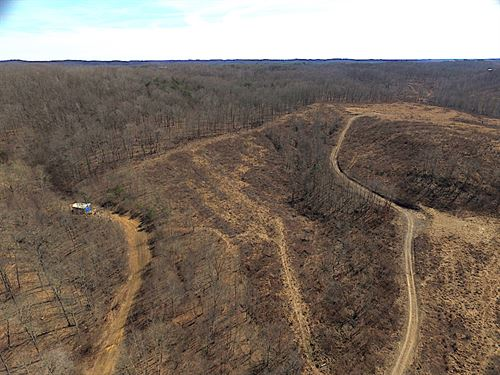 South Shurtz Rd, 233 Acres : New Plymouth : Vinton County : Ohio