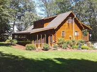 5 Private Acres, Log Home : Millville : Columbia County : Pennsylvania