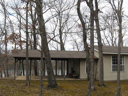 2 Homes, 1 Mile Lake / Riverfront : Camdenton : Camden County : Missouri