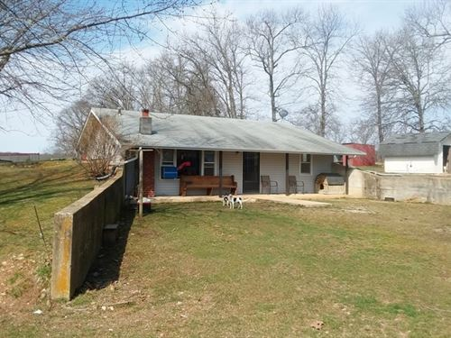 Nice 9.47 Acre Farm And Home : Mountain View : Howell County : Missouri
