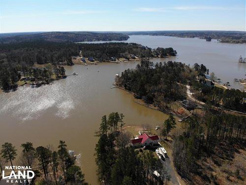 Waterfront Acreage With Docks : Camden : Kershaw County : South Carolina