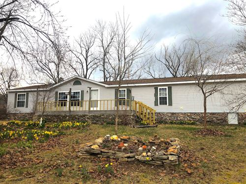 Country Home With Acreage Ozarks : Koshkonong : Oregon County : Missouri