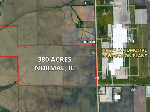 380 Ac Normal Farm : Normal : McLean County : Illinois