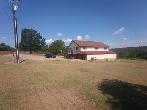 4 Br/3 Bath Home With 5 Acres : Altus : Franklin County : Arkansas