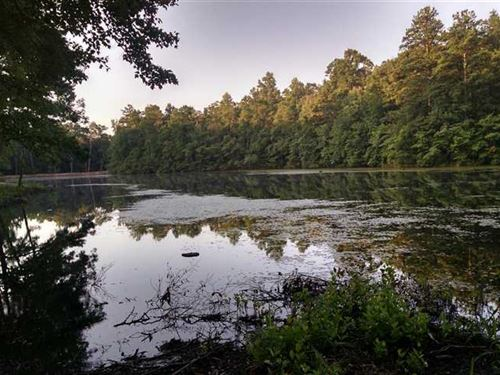 24 Acres Private Lake Carr : Bremen : Carroll County : Georgia