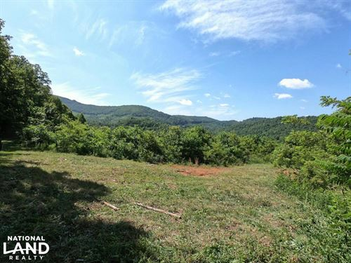 Large Rolling Clear-Cut Tract With : Hendersonville : Henderson County : North Carolina