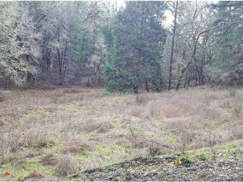 Melqua Rd, Property Ready to Bu : Roseburg : Douglas County : Oregon