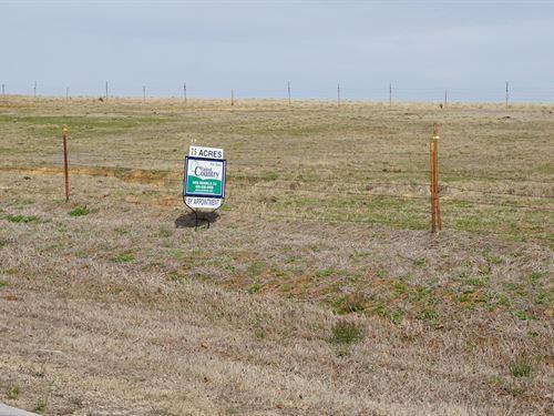 75 Acres Eastern Oklahoma County : Harrah : Oklahoma County : Oklahoma