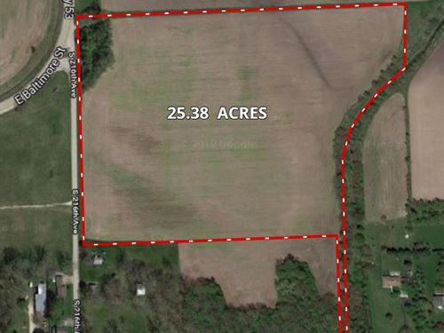 Wilmington 25 Acres Commercial : Wilmington : Will County : Illinois