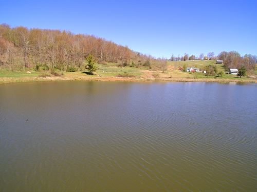 Buildable, Waterfront Tract Blue : Independence : Grayson County : Virginia