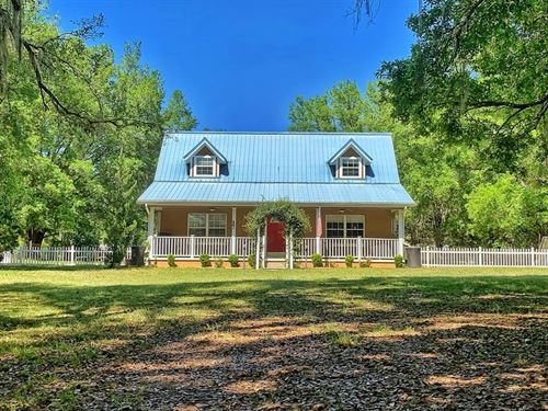 Country Home In Levy County 6 Acres : Trenton : Levy County : Florida