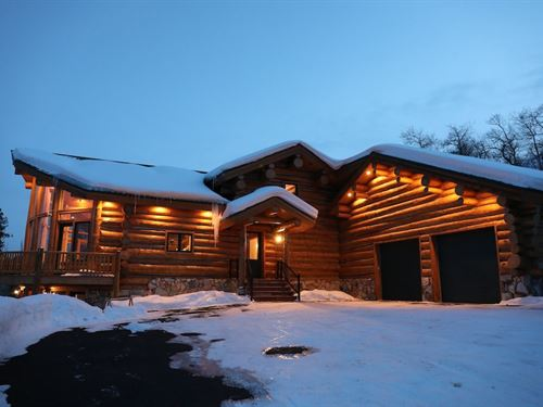 Log Home Offers Hunting Fishing : Tabernash : Grand County : Colorado