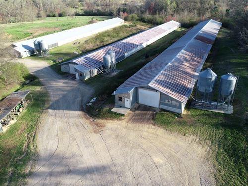 The Bearden Poultry Farm : Boaz : DeKalb County : Alabama