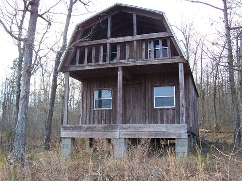 Rustic Hunting Cabin 10 Ac Arkansas : Leslie : Searcy County : Arkansas