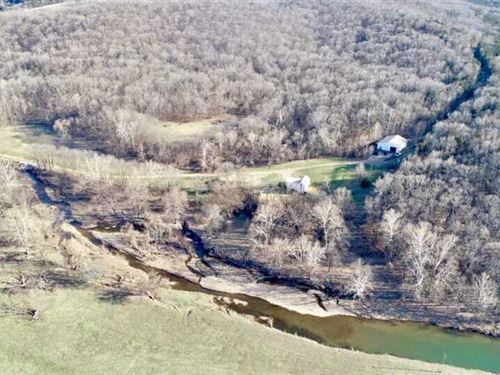 Secluded Country Living at Its Best : Hermann : Montgomery County : Missouri