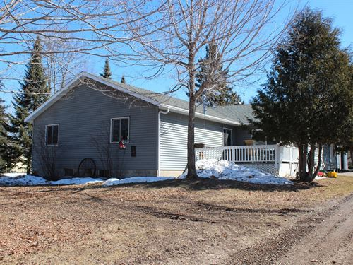 4Br Country Home Lake Mille Lacs : Isle : Aitkin County : Minnesota