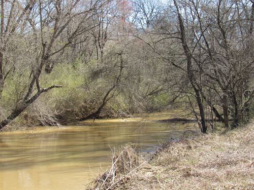 54.27 Acre River Front Mini Farm : Woodruff : Spartanburg County : South Carolina