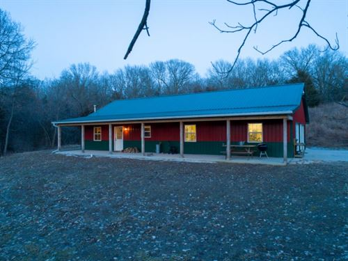 Cabin In The Woods Farm : Emden : Marion County : Missouri