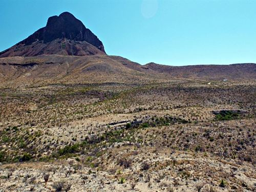 20 Acres Near West Corozone Peak : Terlingua : Brewster County : Texas