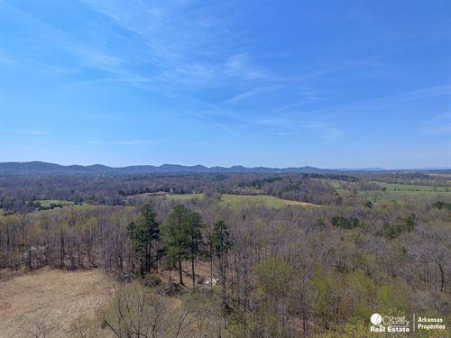 Acreage With a View Close to Town : Mena : Polk County : Arkansas