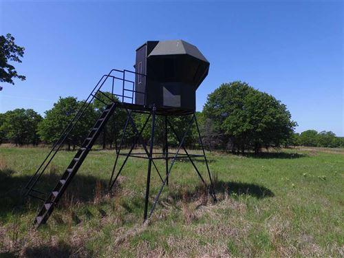 213 Acre Hunting And Grass Farm fo : Sedan : Chautauqua County : Kansas