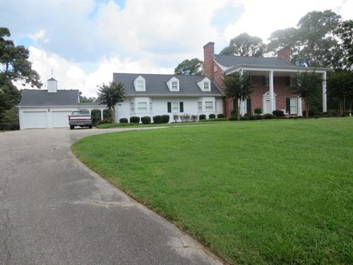 Beautiful Home With 6 Acres : Lineville : Clay County : Alabama