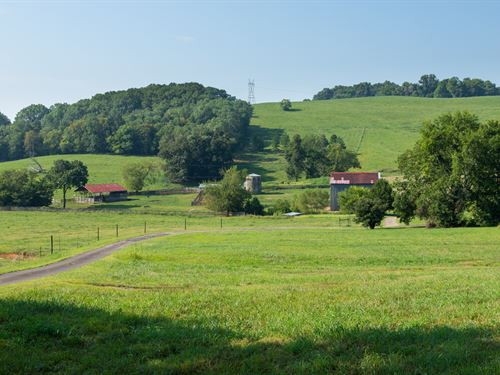 Beautiful 153 Acre Farm : Santa Fe : Maury County : Tennessee