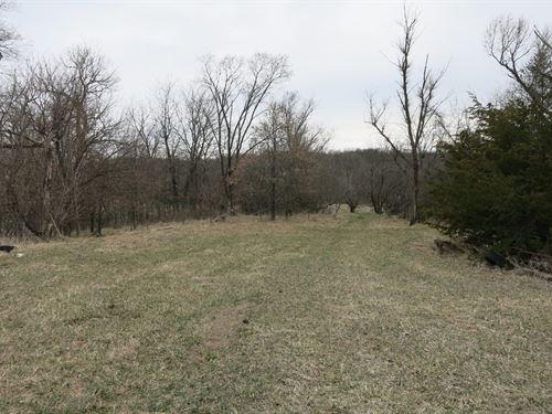 Hunting Property Northwest Missouri : Ridgeway : Harrison County : Missouri