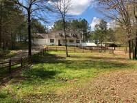 3 Br, 2 Ba On 5.39 Acres With Barn : Taylorsville : Bartow County : Georgia