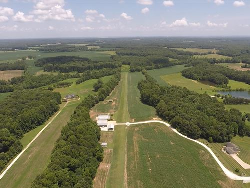 53 Acres With Airstrip : Puryear : Henry County : Tennessee
