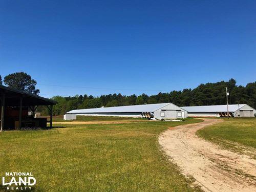 Bowman Turn-Key Chicken Farm : Bowman : Orangeburg County : South Carolina