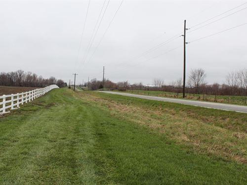 Tillable Row Crop Farm Land Fulton : Fulton : Callaway County : Missouri