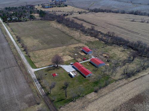 Wapello County Iowa Country Acreage : Ottumwa : Wapello County : Iowa