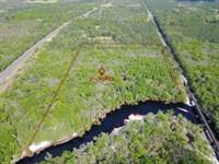 21.70 Acres, Tom Crawford Rd : Hilliard : Nassau County : Florida