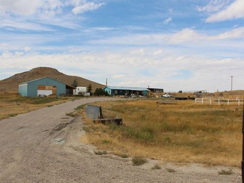 Home With Acreage For Sale : Shelby : Toole County : Montana