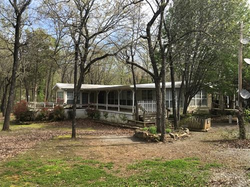 Country Home For Sale SE Oklahoma : Red Oak : Latimer County : Oklahoma