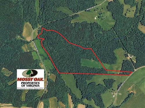 57 Acres of Recreational Land With : Callands : Pittsylvania County : Virginia