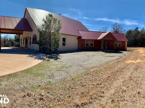 Wilderness Refuge Lodge : Carney : Lincoln County : Oklahoma