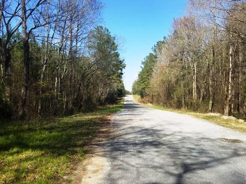 Crump Tract : Pageland : Anson County : North Carolina