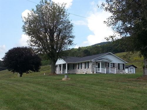Beautiful Home With 100 Acres : Sneedville : Hancock County : Tennessee